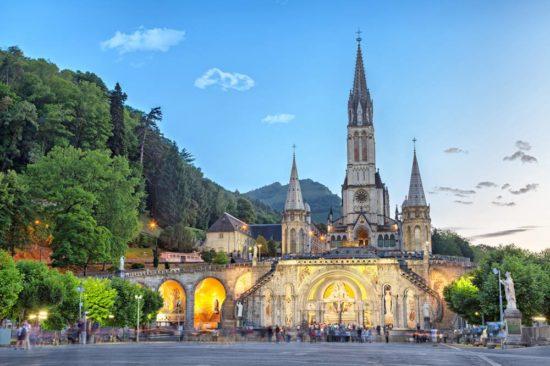 Annecy - La Salette - Lourdes - Rocamadour - Nevers - Paray le Monial